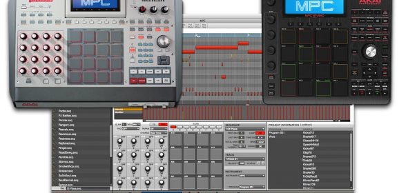 AKAI MPC Software 2-3-0 and EXPANSIONS WiN
